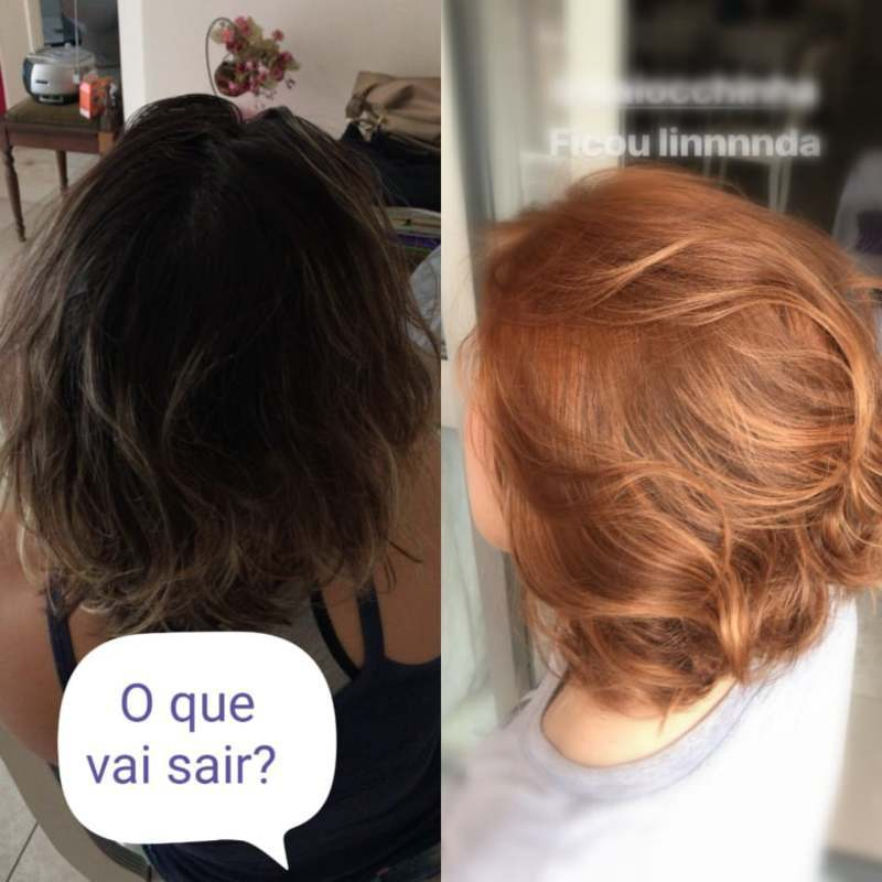 #curtosdivinos  #hair #ruivos #Netodelattre cabelo cabeleireiro(a) auxiliar cabeleireiro(a)