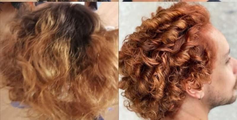 #ruivosiluminados  #hair #ruivos #cachos #Netodelattre cabelo cabeleireiro(a) auxiliar cabeleireiro(a)