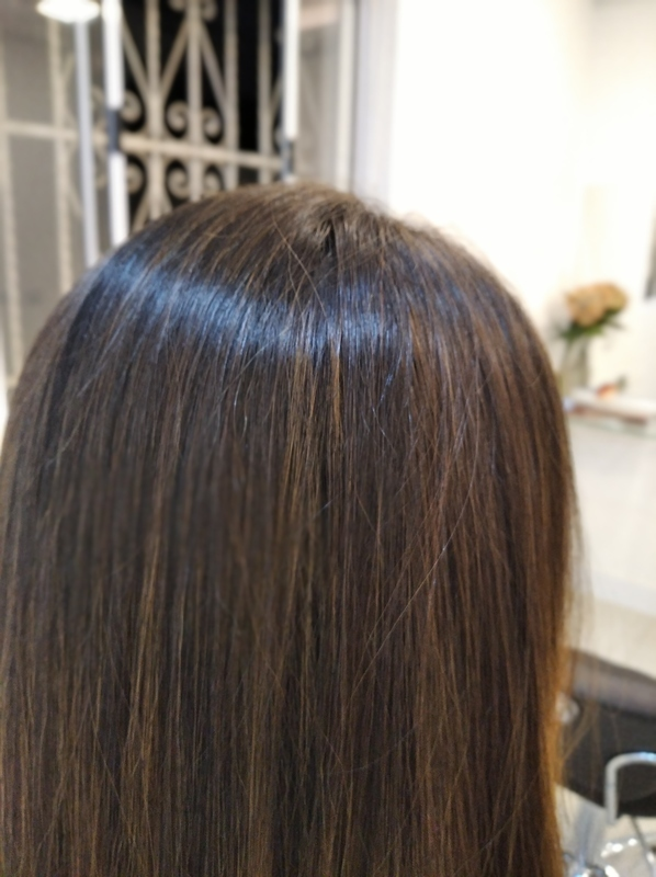Retoque luzes depois. cabelo cabeleireiro(a) barbeiro(a) maquiador(a) designer de sobrancelhas depilador(a)
