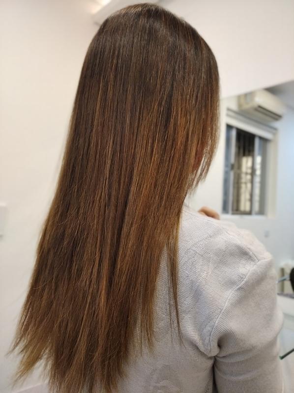 Retoque luzes depois cabelo cabeleireiro(a) barbeiro(a) maquiador(a) designer de sobrancelhas depilador(a)