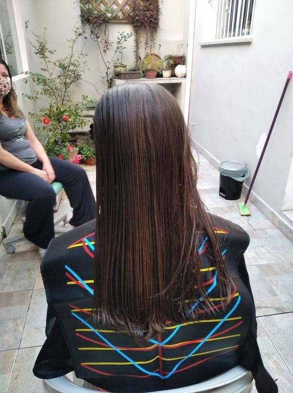 Corte longe Bob antes cabelo cabeleireiro(a) barbeiro(a) maquiador(a) designer de sobrancelhas depilador(a)