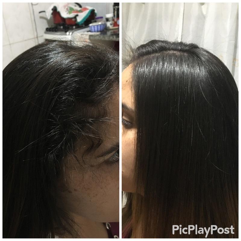 Progressiva cabelo já lavado  cabelo auxiliar cabeleireiro(a)