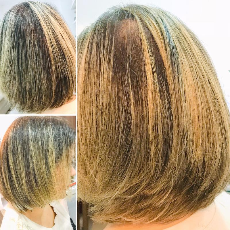 Corte e escova. cabelo cabeleireiro(a) maquiador(a)
