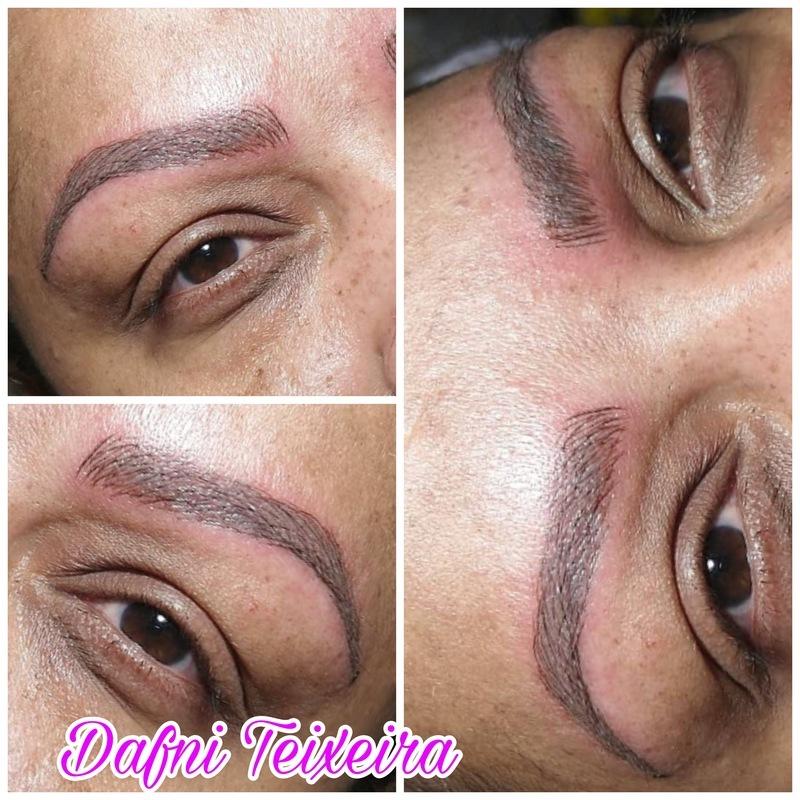 Microblading maquiagem esteticista maquiador(a) designer de sobrancelhas micropigmentador(a) manicure e pedicure depilador(a) vendedor(a) promotor(a) de vendas