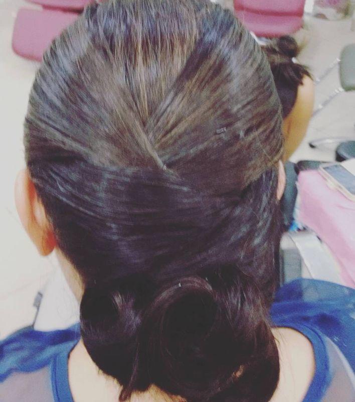 Preso clássico cabelo cabeleireiro(a)