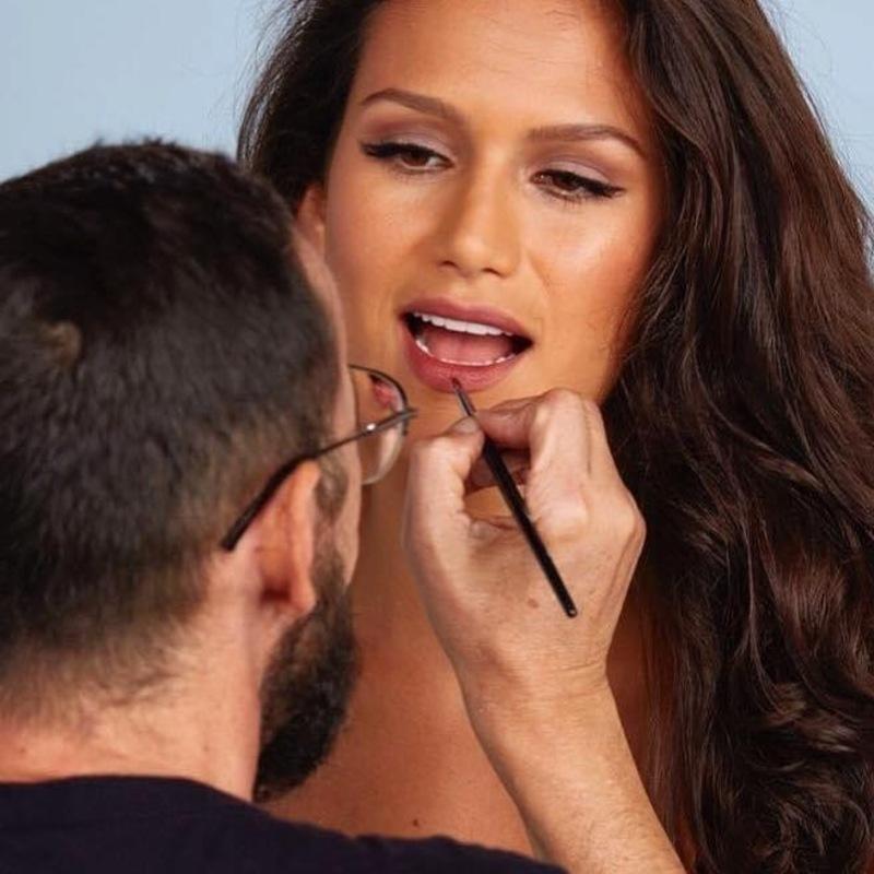 Boca natural  maquiagem maquiador(a)