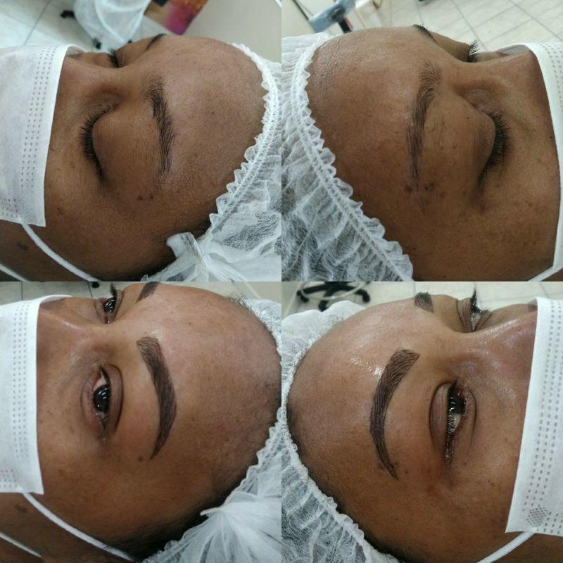 Micropigmentação outros maquiador(a) micropigmentador(a) designer de sobrancelhas cabeleireiro(a)