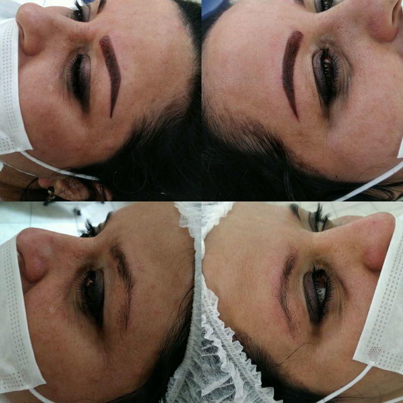 Microbalding Tecnica híbrida outros maquiador(a) micropigmentador(a) designer de sobrancelhas cabeleireiro(a)