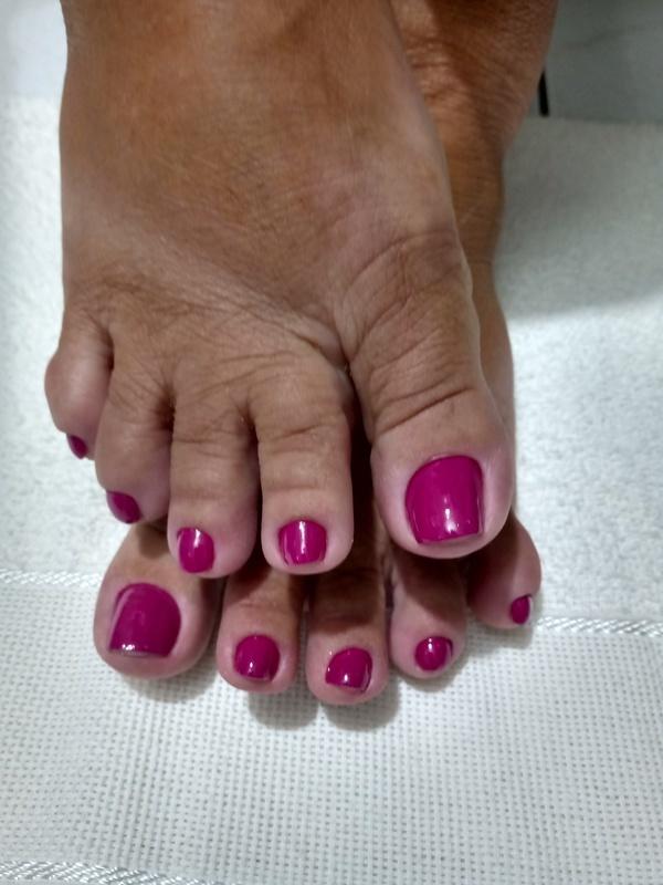 Unha feita no nosso curso de Manicure e pedicure ! #manicure #pedicure #pezinholindo #manicuretop unha empresário(a)
