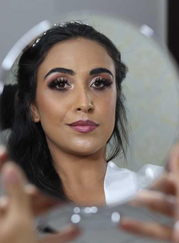 Curso de maquiagem, feita por aluno, sem filtro! #maquiagem #cursodemaquiagem #beauty #cursosbc maquiagem empresário(a)