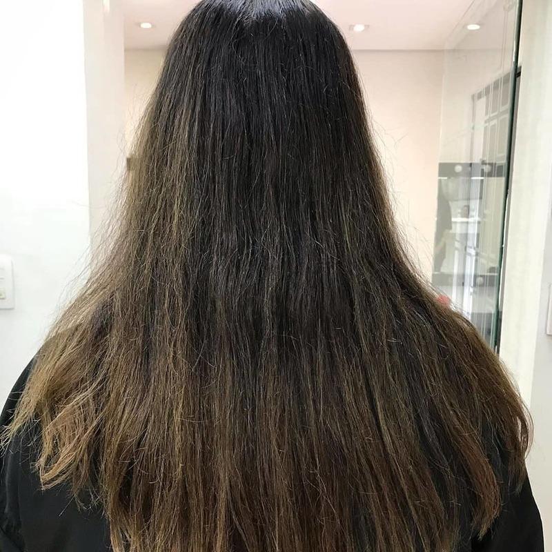 Antes cabelo auxiliar cabeleireiro(a) assistente maquiador(a)