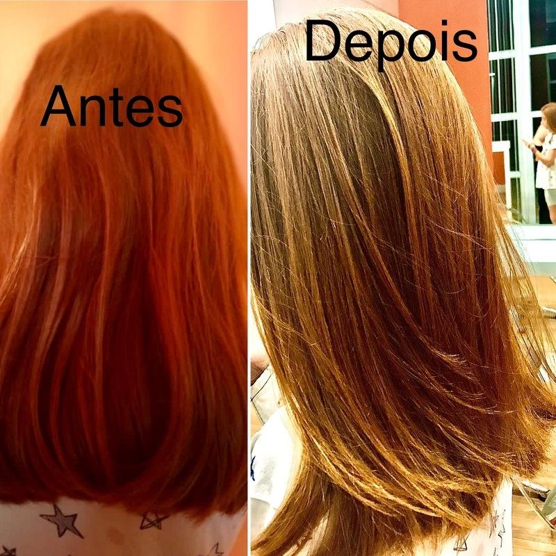 Hidratação nutritiva + escova cabelo cabeleireiro(a) maquiador(a)