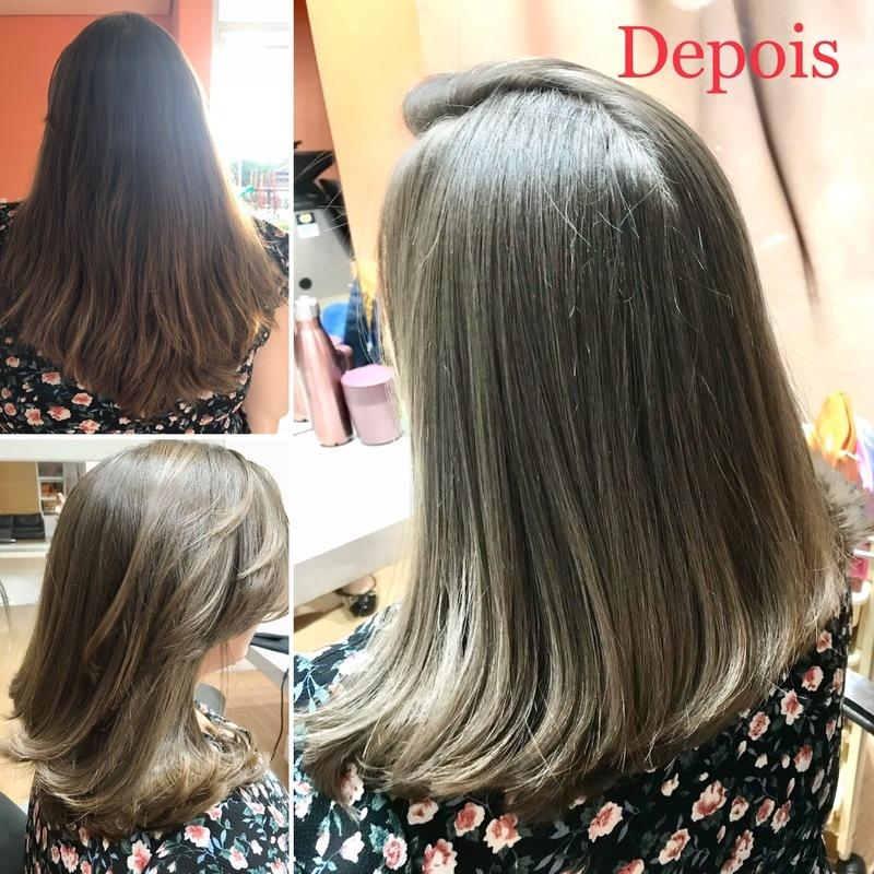 Corte+ Botox cabelo cabeleireiro(a) maquiador(a)