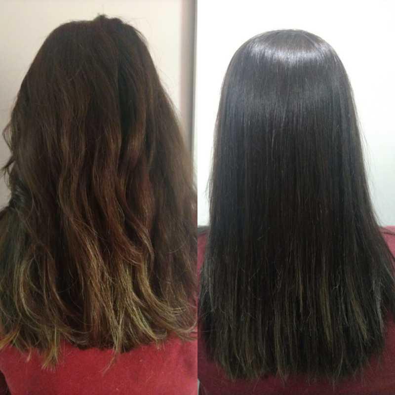 Tratamento Capilar - Bioplastia  #cabelo #hidratação # bioplastia #cabelomacio cabelo maquiador(a) micropigmentador(a) designer de sobrancelhas cabeleireiro(a)