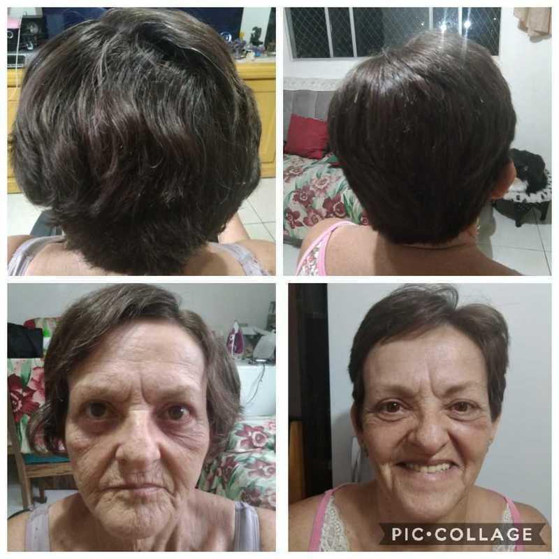 Corte de Cabelo Senhora cabelo maquiador(a) micropigmentador(a) designer de sobrancelhas cabeleireiro(a)