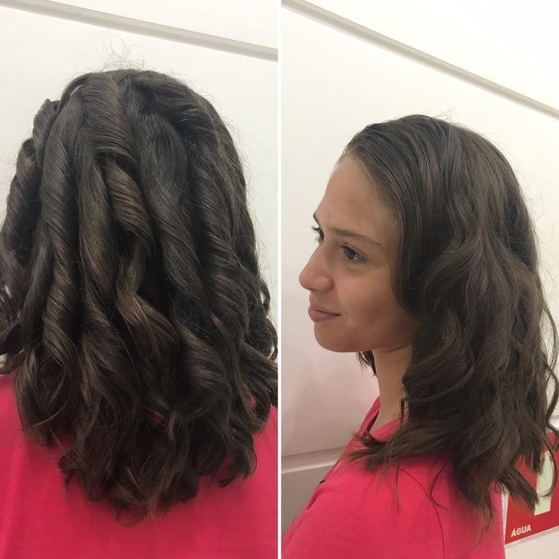 Cronograma capilar - sessão de cauterização . Cliente em Transição capilar cabelo cabeleireiro(a) maquiador(a)