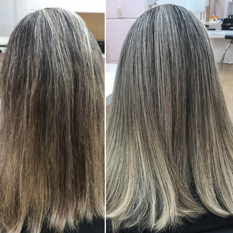 Progressiva de raiz cabelo cabeleireiro(a) maquiador(a)