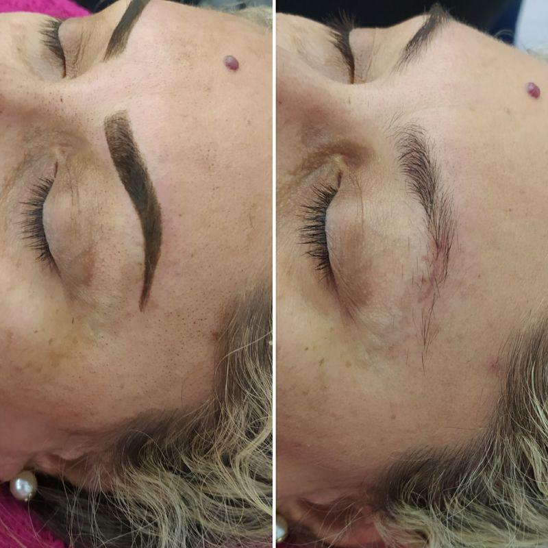 Micropigmentação micropigmentador(a) designer de sobrancelhas assistente maquiador(a) auxiliar de limpeza maquiador(a) recepcionista