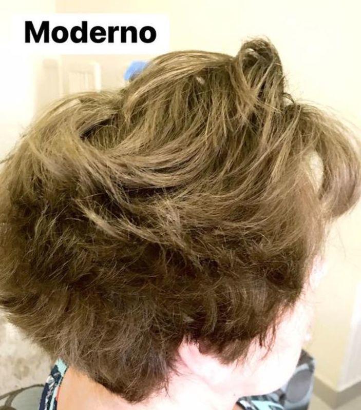 Corte curto, moderno e desconectado. cabelo cabeleireiro(a) maquiador(a)