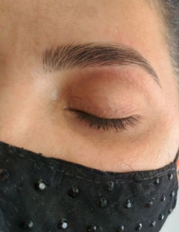 Design de Sobrancelhas na Linha outros designer de sobrancelhas assistente esteticista micropigmentador(a) outros