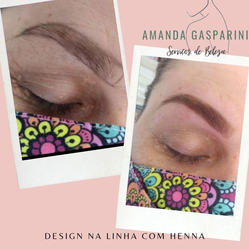 Design com Henna outros designer de sobrancelhas assistente esteticista micropigmentador(a) outros