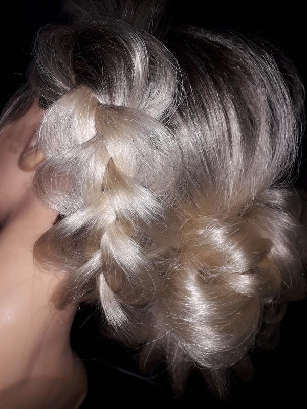 Sequência de trez fotos! cabelo cabeleireiro(a) barbeiro(a) maquiador(a) designer de sobrancelhas depilador(a)