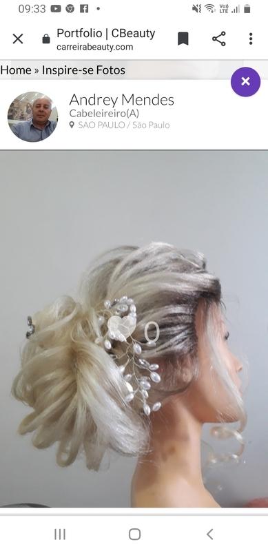 Moicano com coque baixo despojado cabelo cabeleireiro(a) barbeiro(a) maquiador(a) designer de sobrancelhas depilador(a)