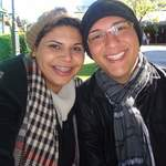 Gislaine Sousa e  Diego Massa